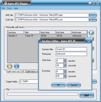 how to use ape and cue files ps2
