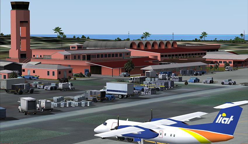 VC Bird Intl Airport - Antigua FSX Download (vcbia-an exe)