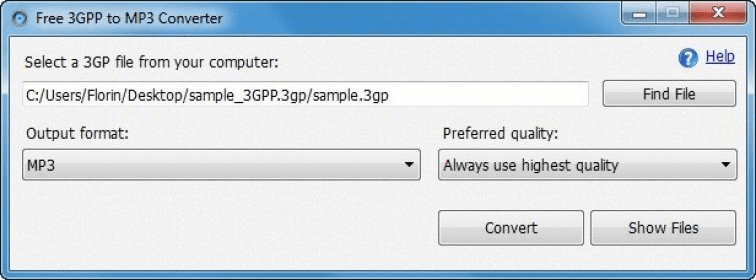 free 3gp to mp3 converter software download