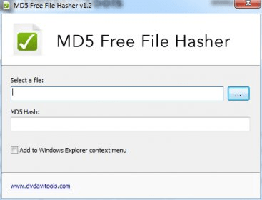 MD5 Free File Hasher - Software Informer  MD5 Free File Hasher is a
