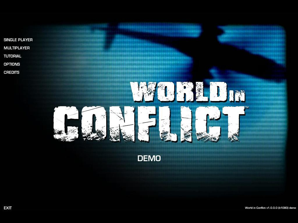 World in conflict demo