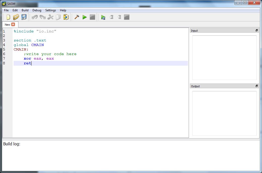 SASM 3 0 Download (Free) - sasm exe