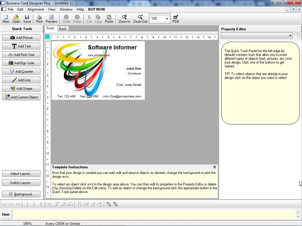Business Card Designer Plus 11 3 Download Bcdp Exe