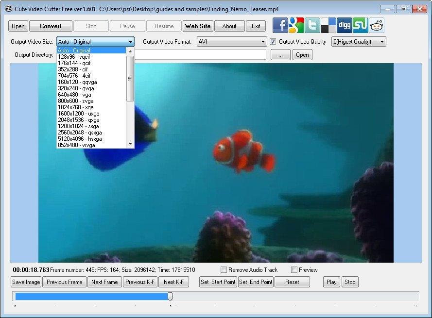 Cute Video Cutter 1 3 Download (Free) - videocutter exe