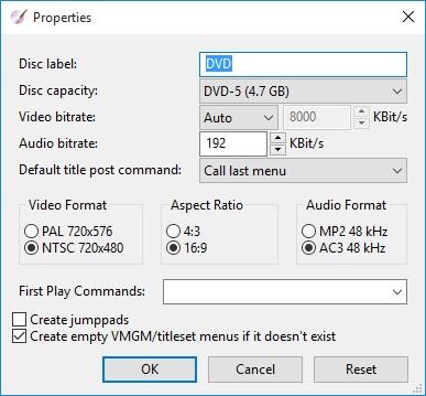 DVDStyler Download - Create video DVD discs easily