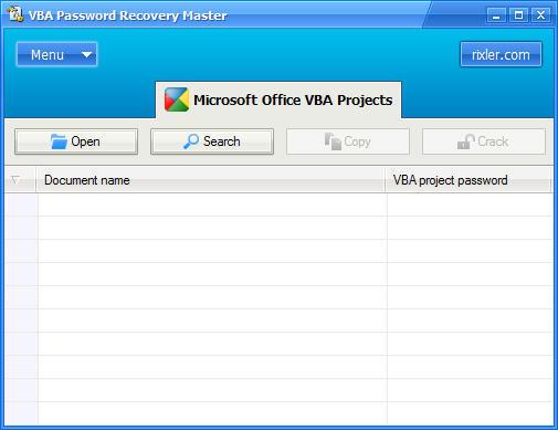 Vba password recovery master serial torrent full version