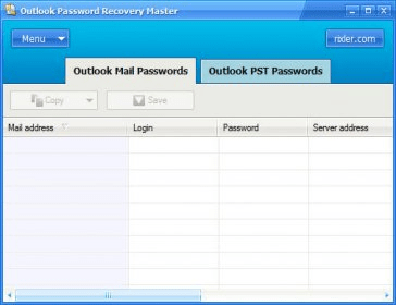 outlook password recovery master version 3.1 registration code