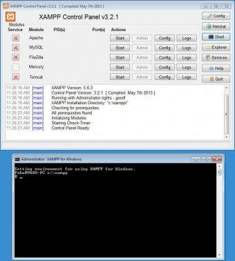 1.7.1 GRATUIT XAMPP TÉLÉCHARGER