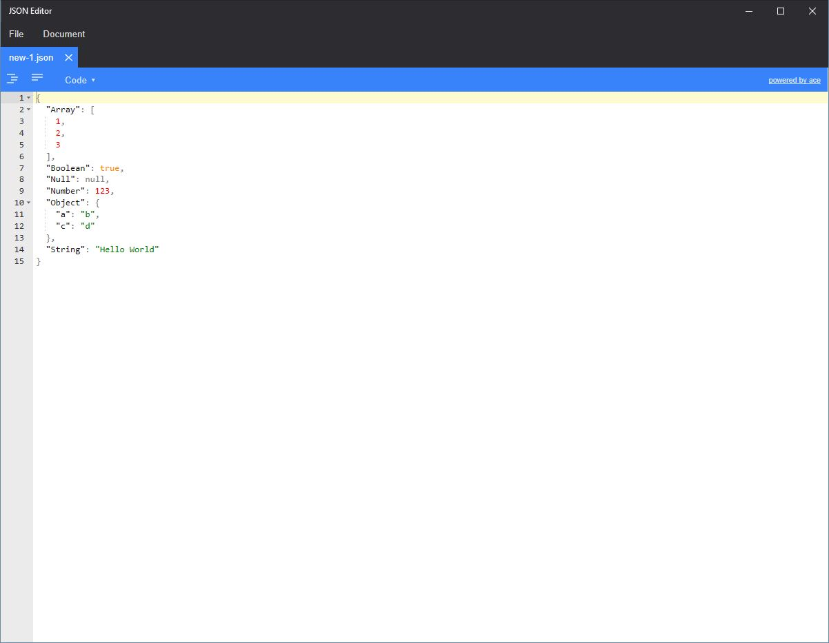 Free JSON Editor 1 0 Download - FreeScriptEditor exe