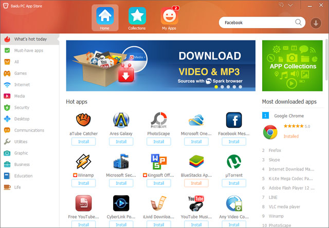 PC App Store Download - Baidu App Store is a download