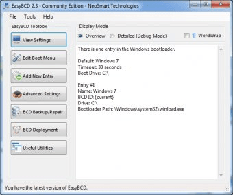 easybcd community edition 2.2.0.182 free download