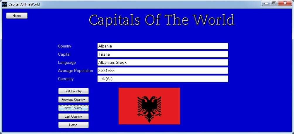 Capitals of the World