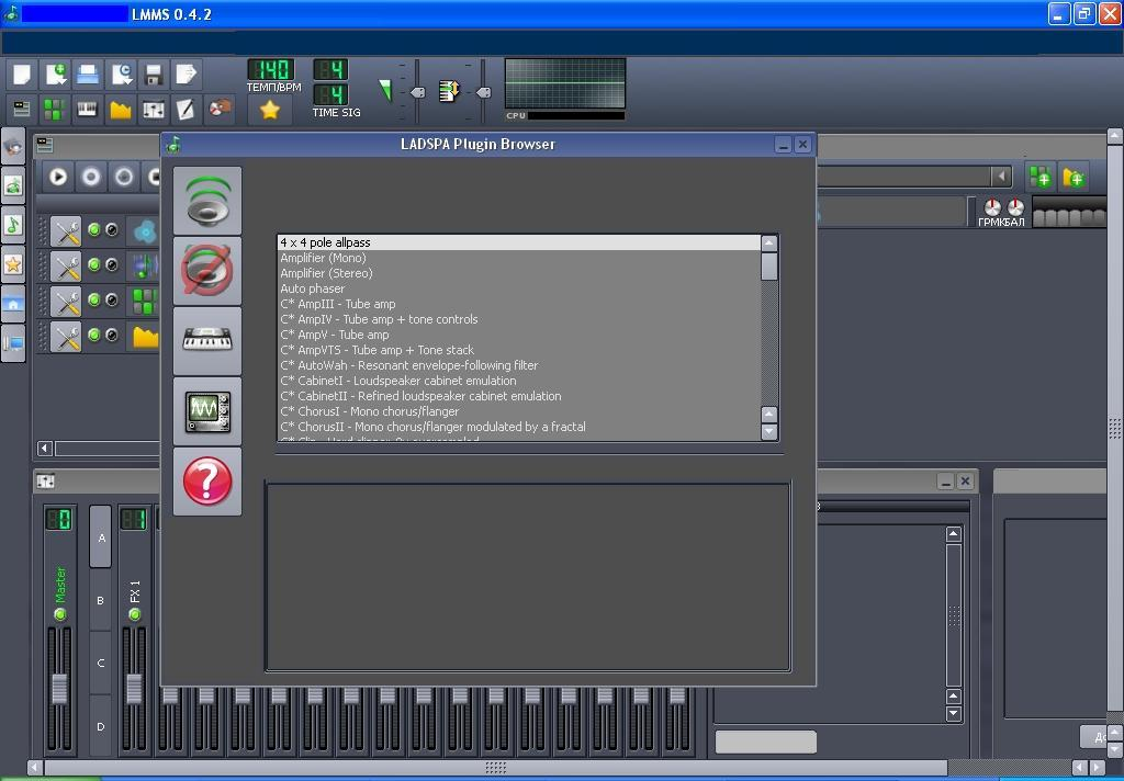 Linux MultiMedia Studio 0 4 Download (Free) - lmms exe