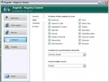argente registry cleaner 1.5.5.2