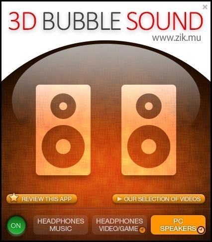3D BUBBLE SOUND 1 0 Download (Free) - 3D BubbleSound exe