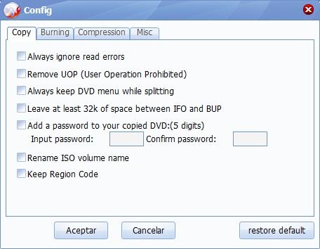 Copy Configuration