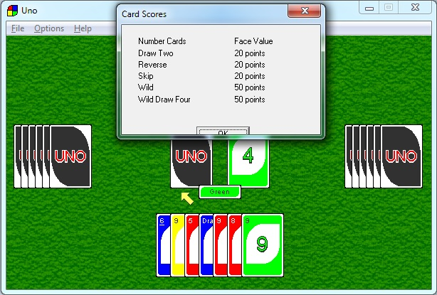Card Scores