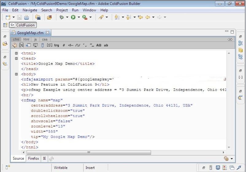 Program window