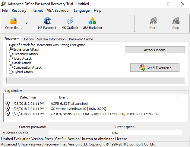 Advanced Office Password Recovery  Get the software safe and easy