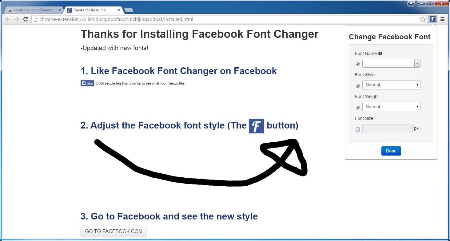 Facebook Font Changer 2 1 Download (Free)