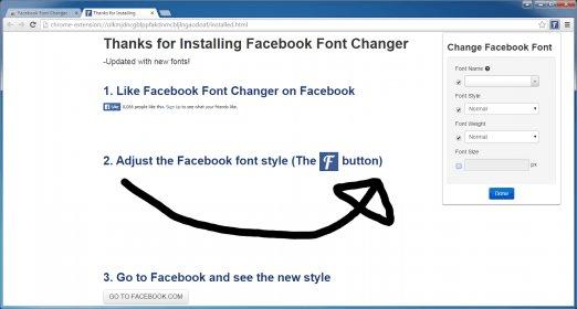 Facebook Font Changer 2 1 Download Free
