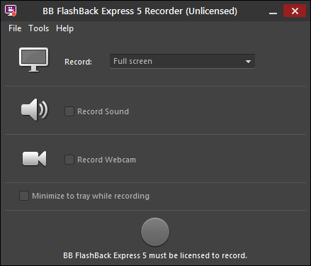 BB FlashBack Express 4 1 Download (Free) - FlashBack Player exe