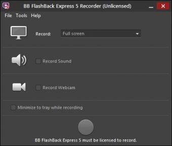 blueberry flashback express recorder download