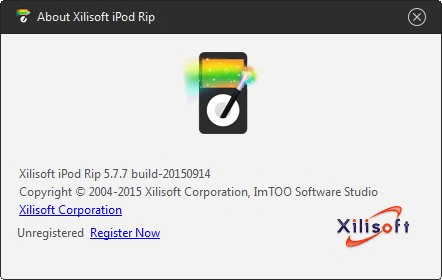 xilisoft ipod rip unregistered