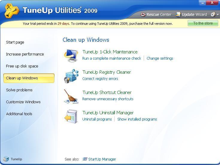Clean Up Windows Screen