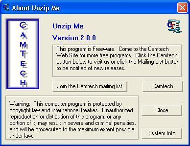 UnZip Me 1 0 Download (Free) - UnZipMe exe