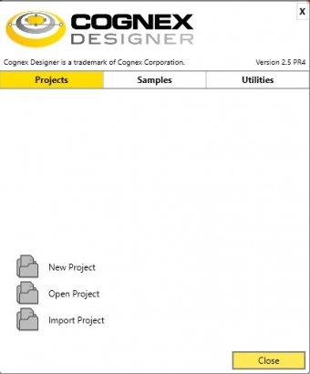 Cognex Designer 2 5 Download (Free trial) - Cognex Designer