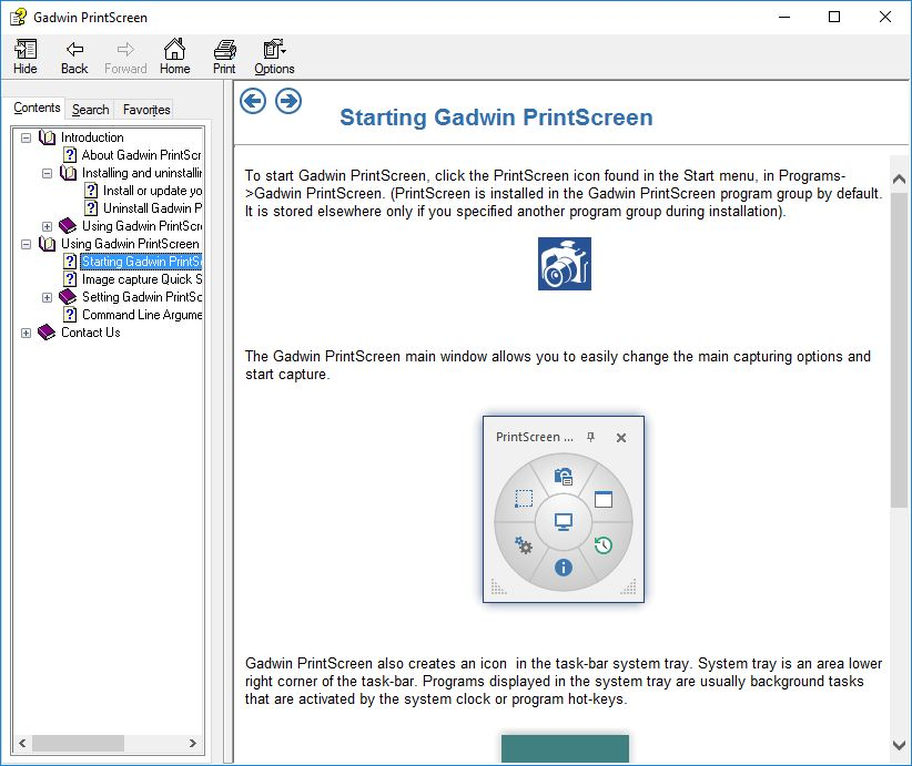 Gadwin PrintScreen Professional  Get the software safe and easy