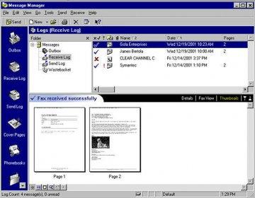 symantec winfax pro