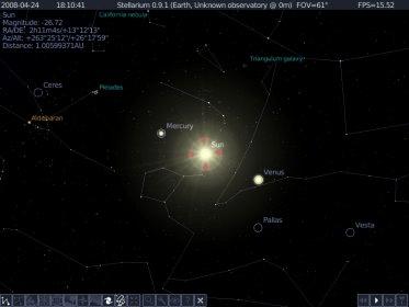stellarium 0.9.1