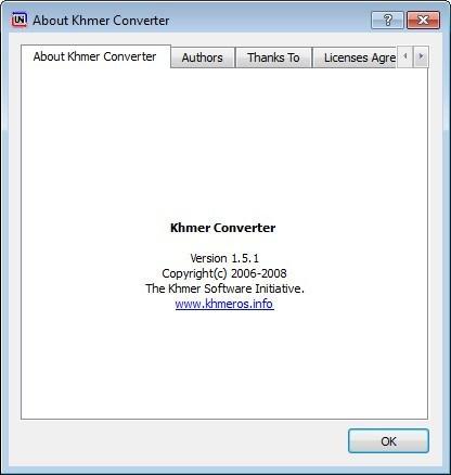 Khmer Converter 1 5 Download (Free) - khmerconverter exe