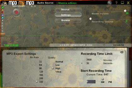 mp3mymp3 recorder 3.1