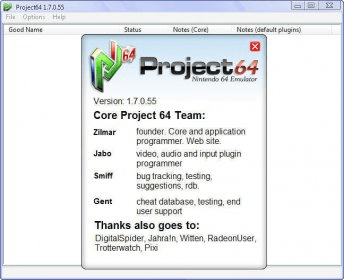 Project64 1 7 Download - Project64 exe