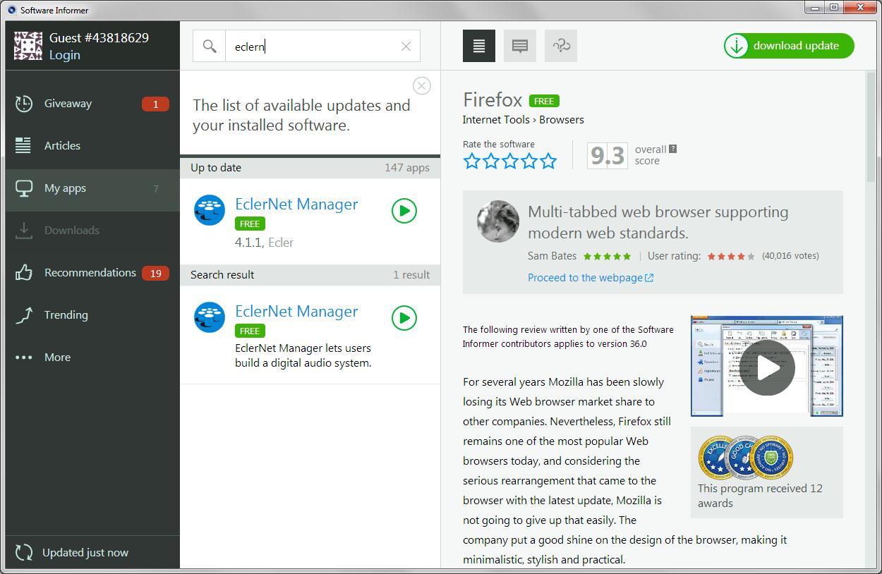 EclerNet Manager 3 3 Download - eclernet_manager exe