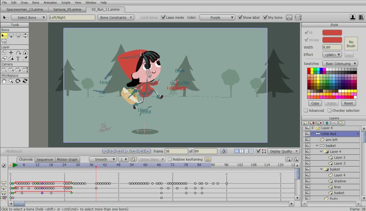 Creating animation