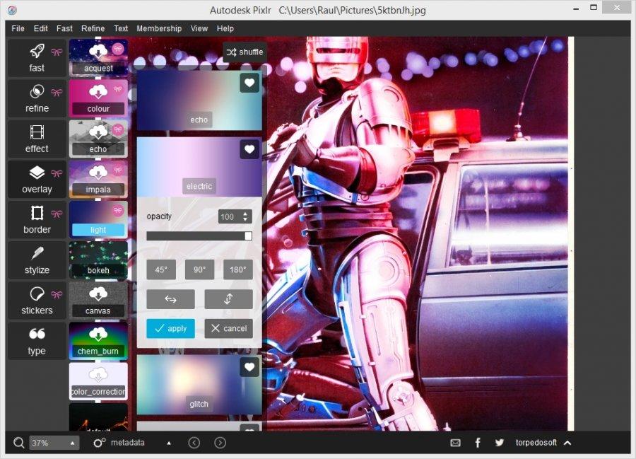 Autodesk Pixlr 1 0 Download Free Pixlr Exe