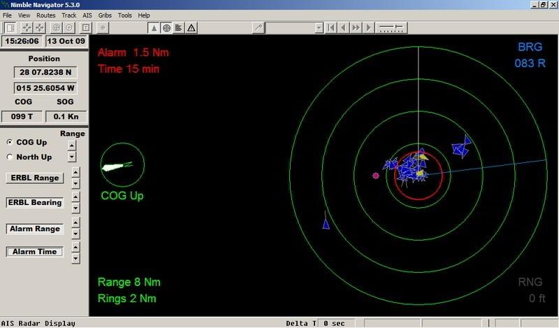 AIS Radar Window