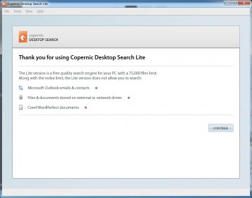 copernic desktop search 2.3