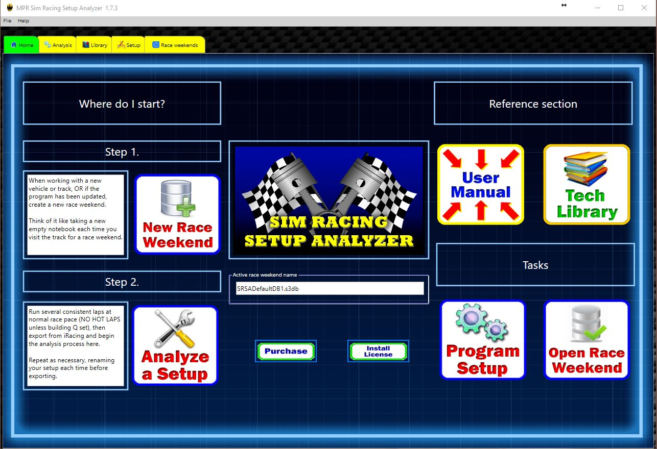 Sim Racing Setup Analyzer Download - Offers iRacers the