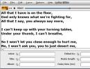 Lyrics editor