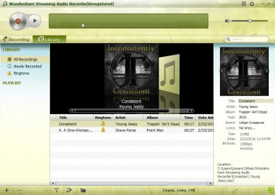 AUDIO 2.0.0.21 RECORDER WONDERSHARE TÉLÉCHARGER STREAMING