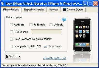 hAcx iPhone Unlocker 0 9 beta Download (Free) - HacxUnlock exe