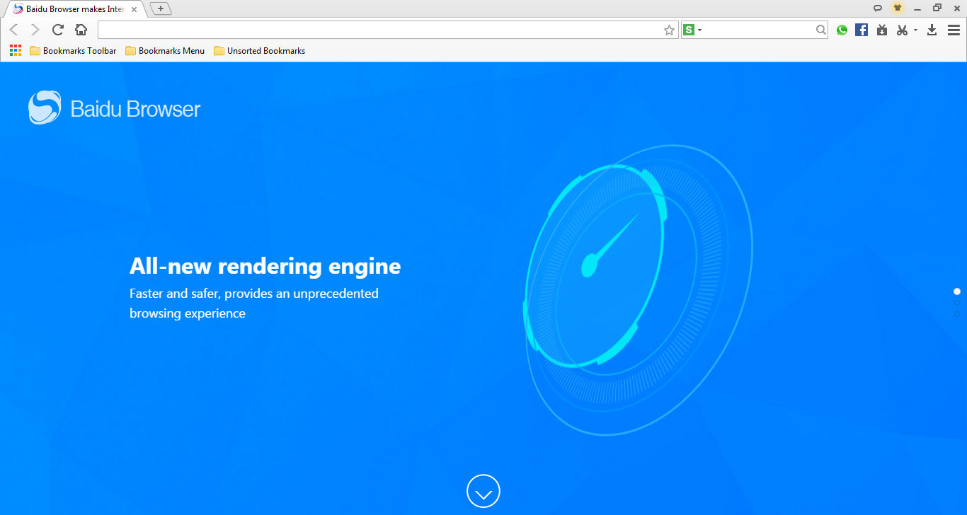 Baidu Spark Browser Download - Baidu Browser is fast, full