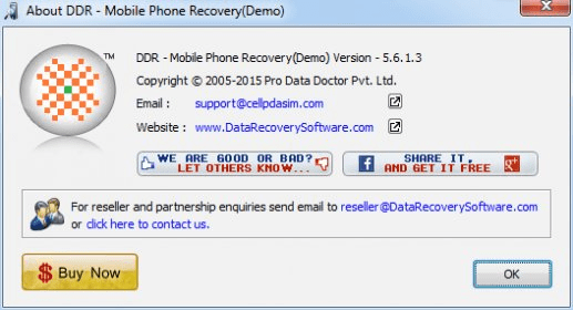 ddr mobile phone recovery full version free download