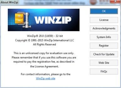 Winzip 16. 5 download (free trial) winzip32. Exe.