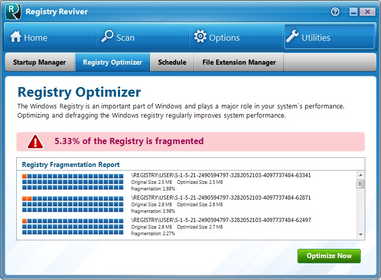 Registry Optimizer